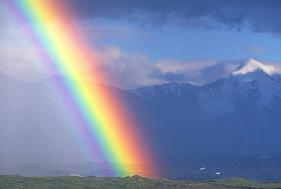 rainbow - Somewhere out there has all the powers to change who we are right now.