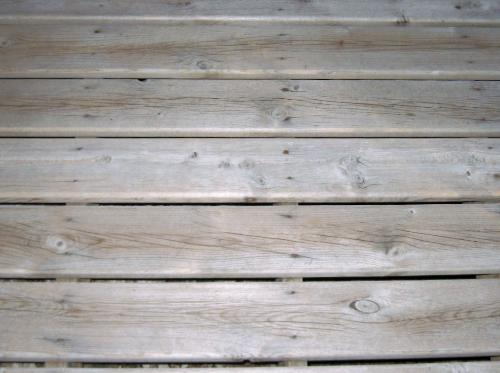 Weathered Deck surface - This is my deck out front. Worn to white.