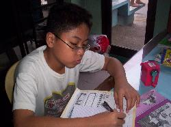 School at Home - studying at home