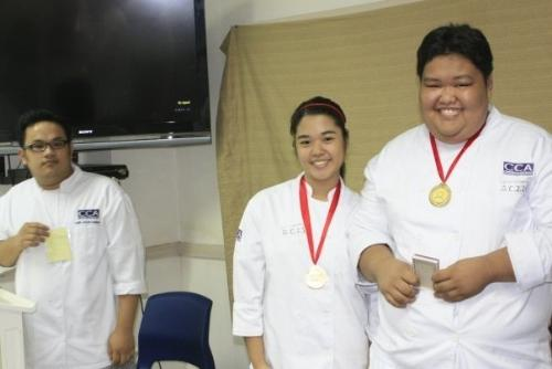 Medals - They were awarded for excellence.