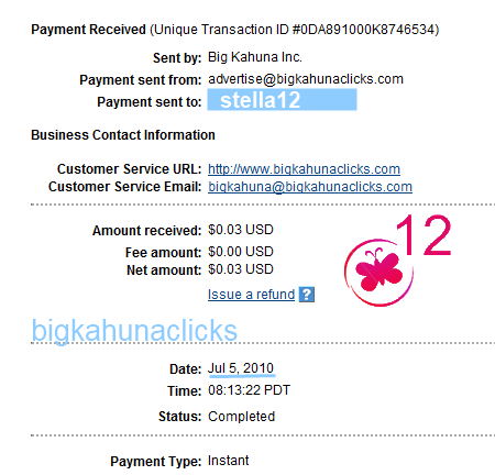 bigkahunaclicks payment proof, bigkahunaclicks.com payment proof