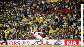 Siphiwe Tshabalala Goal - The vital goal scored by South African Siphiwe Tshabalala against Mexico at the 19th FIFA World Cup Soccer Tournament 2010.