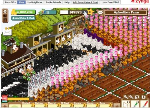 Farmville photo - Photo of my farm when I was in level 41. I was totally crazy fro FV at that time ..haha