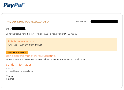 my payment proof - my payment proof and a decent one too!