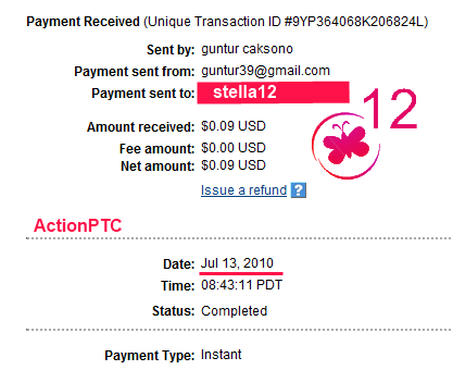 actionptc payment proof, actionptc paying