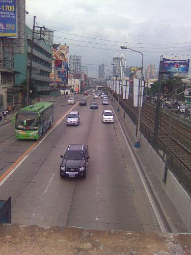 A view in EDSA - This is a part of EDSA