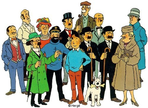 Tags cartoon s tintin