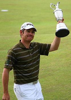 Louis Oosthuizen - Louis Oosthuizen, the 2010 British Open champion.