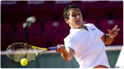 Almagro  - Almagro filed the second round of the Hamburg