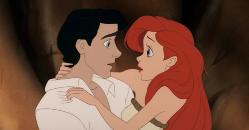 love - Prince Eric helps Ariel walk on her new legs