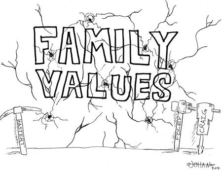 Family values - Family values of new generation.......
