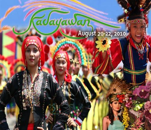 """Kadayawan Festival 2010 - Madayaw! A warm and friendly greeting derived from the Dabawenyo word """"dayaw"""" that means good. It is also used to describe any thing that is valuable, superior or beautiful. Such is """"Kadayawan"""", a celebration of life, a thanksgiving for the gifts of nature, the wealth of culture, the bounties of harvest and the serenity of living."""