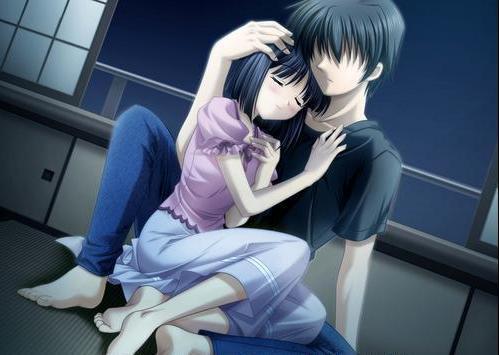 cute hug - sweet romantic hug