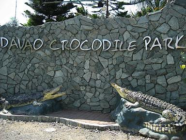 Davao Crocodile Park - Entrance way of DCP