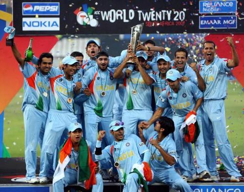 team india - hope team India celebrate like this!!