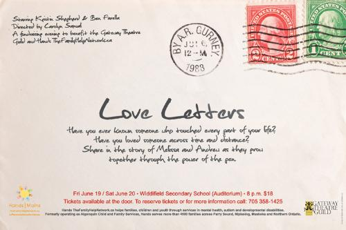 love letters - letters sent but not through technology