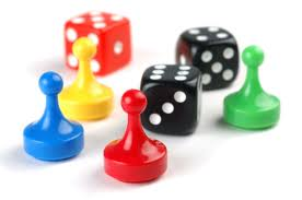 game pieces  - board games, childhood games