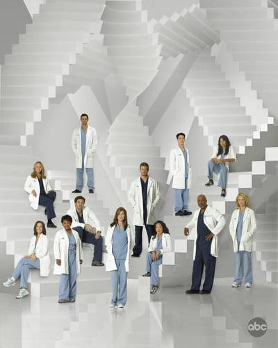 greys anatomy - Images showing the cast of Grey's Anatomy