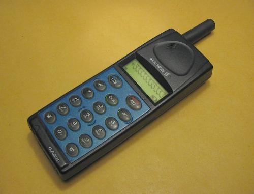 my very first cellphone :D - my first cellphone