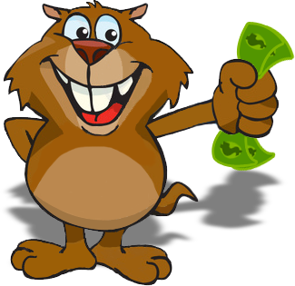 cash gopher - the logo from cash gopher