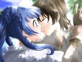 sweet romantic kiss - sweet surprising kiss