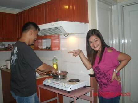 cooking  - me cooking