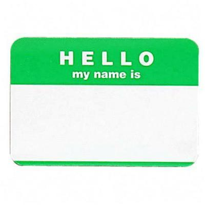 Hello, My name is... - Hello, My name is ... sticker