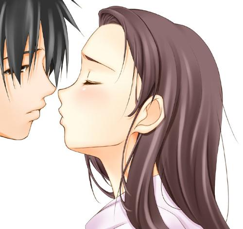 love kiss^^ - boy and girl will kiss^^