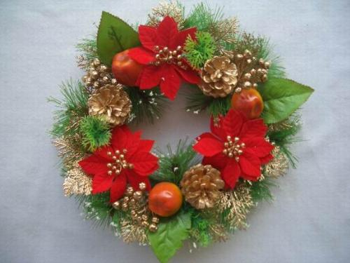 Christmas Wreath - Christmas crafts, wreaths