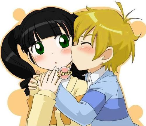 boy is in love with his best friend^^ - boy is kissing girl he likes^^