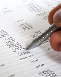 accounting image - accounting pencil and paper