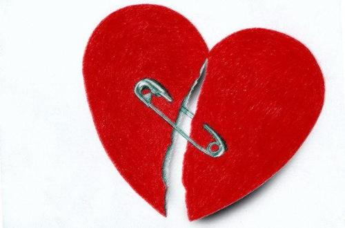 a broken heart - its said if have a broken heart....