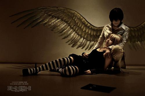 Cosplay picture - Death Note - this is a picture of a CosPlay of Death Note