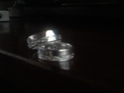Wedding Rings - These are the rings that we bought last 2008 for our 3rd Anniversary.