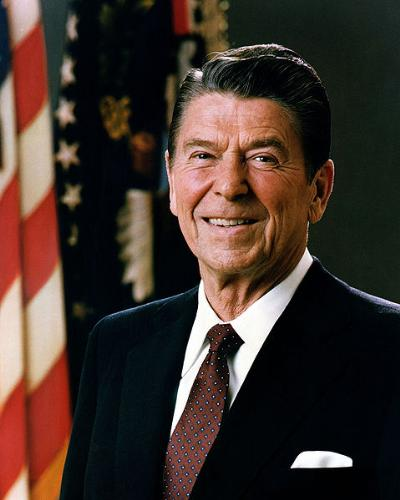 Ronald Reagan - The first US president I voted for!
