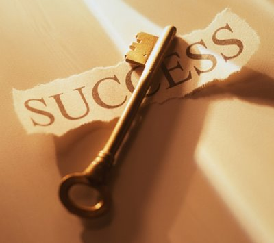 key of success - This picture shows the key of success and the key of success is only a positive thinking