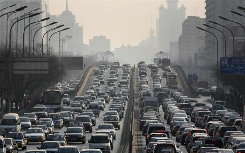 Driving in traffic - Drive your vehicle .. drive it cool in traffic