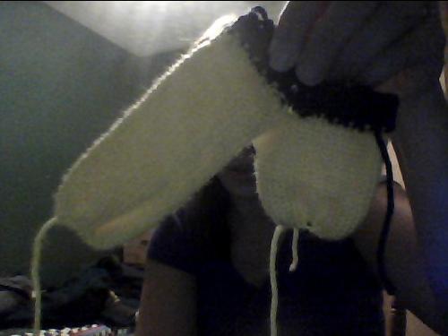 Willy warmer knitting pattern - chlorhina