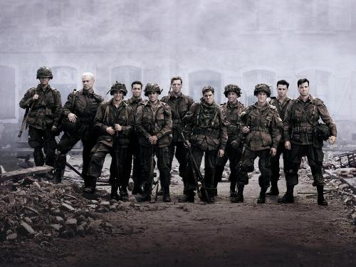 band of brothers - band of brothers casts