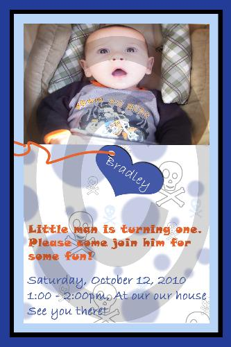birthday invitation - This is an invitation made by me.