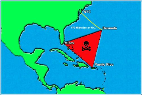 Bermuda triangle - Bermuda Triangle also known 'Devil's Triangle'. I can go there but wont return back.
