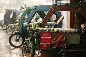 Cricket Pedi Cabs - one of the known transportation in Manila