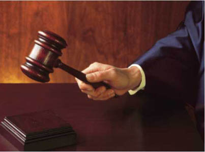 gavel - downloaded from the internet.