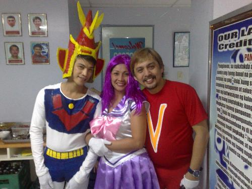 cartoon character - we have a costume party in our Christmas party
