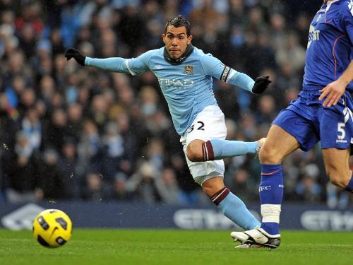 Carlos Tevez - Argentina international and captain of Man City