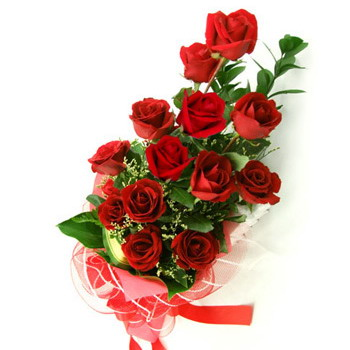 red roses - 1st monthsary- from my boyfriend