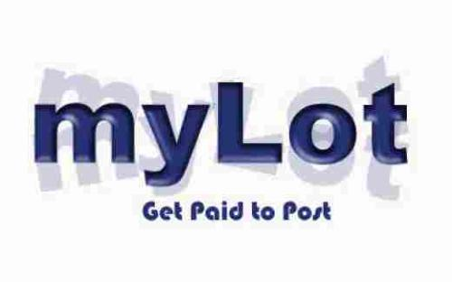 My lot logo - A Mylot logo where it says get paid to post. It is a 520 by 325 image size.
