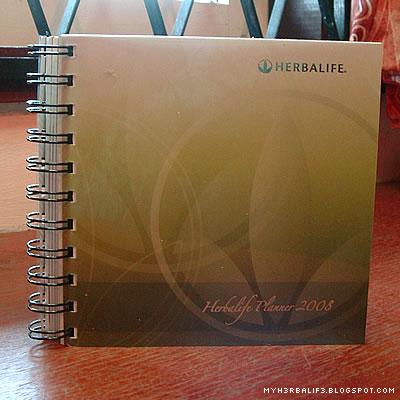 Herbalife notebook - notes