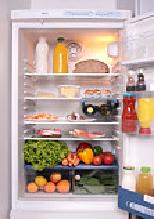Refrigerator - Refrigerator is a brilliant invention where you can keep food for a longer period and staying fresh.