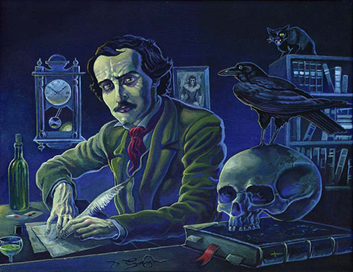 authors plath and poes personal views of death Weird facts about edgar allen poe edgar allan poe is one of america's favorite poets  he was also one of the most mysterious authors,  sylvia plath willam.